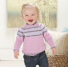 Sakura Baby Sweater