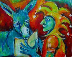 Narr und Esel
