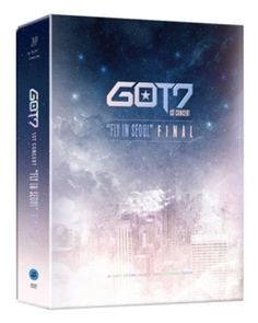 "GOT7 1st CONCERT ""FLY IN SEOUL"" FINAL 3 DVD+Photobook+Photocard+Bookmark+Poster #Pop"
