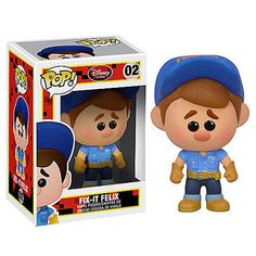 $21.50FUNKO POP! WRECK-IT RALPH FIX-IT FELIX JR. VINYL FIGURE #02 DISNEY STORE EXCL on eBay!