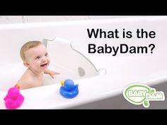 Turn Your Family Tub Into a Baby Bathtub | BabyDam® Bathtub Divider