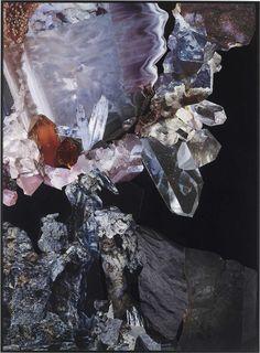 Nicole Wermers - Katzensilber XVIII, Collaged magazines, 26.8 x 19,7 inches, 2008