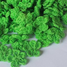 Lime green  flowers crochet ,2 cm,  20 pcs/100 pcs , flowers, yarns,scrapbooking by TheThailand on Etsy