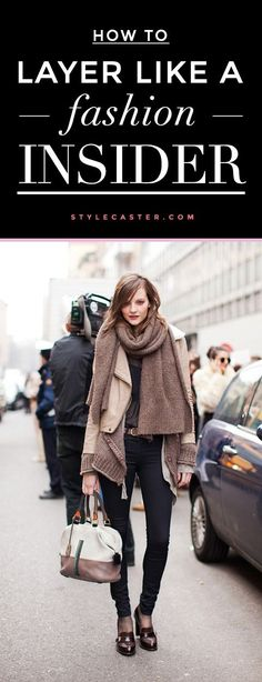 Expert layering tips and tricks from J.Crew's Head Stylist Gayle Spannaus