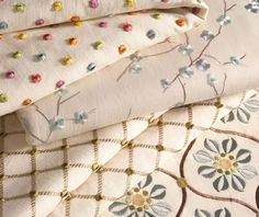 Embroideries Fabric Collection. Image: calicocorners.com.