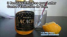 3 Remèdes Efficaces Pour Lutter Contre Les Extinctions de voix.