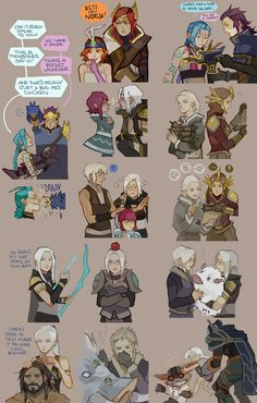 [LoL] champs compilation 5 by zuqling on DeviantArt