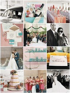 Breakfast at Tiffany's blue and pink themed wedding!! :)