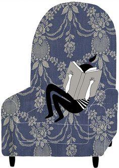 Sumergida en la lectura
