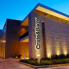 crate and barrel storefront | Indianapolis, Indiana Crate and Barrel in Fashion Mall at Keystone