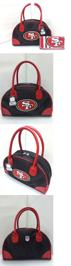 Other Baseball Clothing and Accs 159062: Nfl San Francisco 49Ers Bowler Purse With Organizer Mesh Wallet *New* -> BUY IT NOW ONLY: $49.99 on eBay!