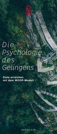 The psychology of success – achieving goals with the WOOP model. Good Motivation, Motivation Inspiration, German Quotes, Mental Training, Affinity Designer, Achieving Goals, Mans World, Lifeguard, Positive Life