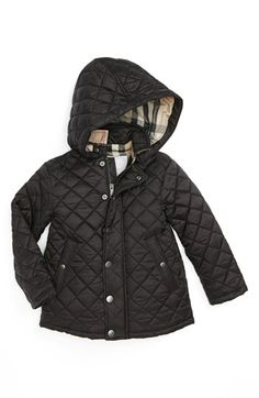 Adorable Burberry Baby quilted Jacket http://rstyle.me/n/eax2vnyg6