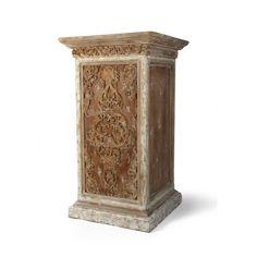 Bliss Studio Carved Pedestal