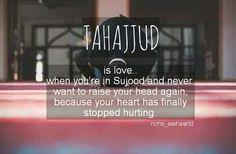 Sujood is where many hearts heal! ❣️