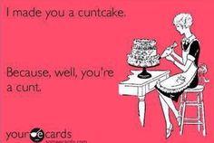 Cunt cake