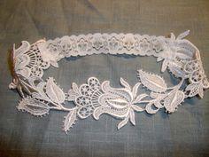 Floral Venise Lace Bridal Garter. £9.95, via Etsy.