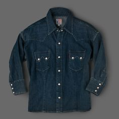Levi's Made & Crafted - Customized Shorthorn Denim Shirt