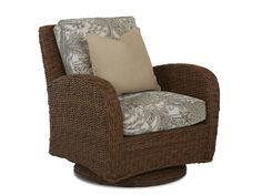 Klaussner Outdoor Outdoor/Patio Palmetto Swivel Glider Chair