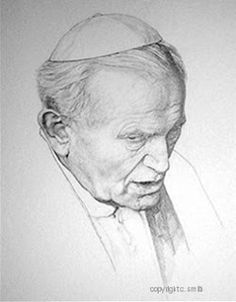 Smith Catholic Art: Shop for artwork and designs from the world's greatest living artists. Catholic Art, Catholic Saints, Roman Catholic, Important People In History, Divine Mercy Sunday, Pope John Paul Ii, Paul 2, Cameron Smith, Saint Peter Square