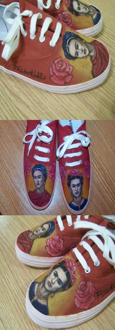 Cool sneakers! I bet these took ages to make.