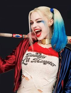"""Margot Robbie as Harley Quinn in Suicide Squad (2016) """