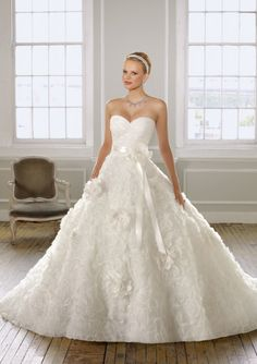 Mori Lee Bridal Gowns Style 1601