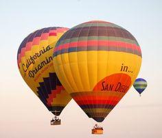 Hot Air Balloons in Del Mar