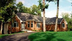 <ul><li>This traditional ranch house plan will offer you the spaciousness you've always wanted in a new home. </li><li>You'll be impressed by the large windows in the great room that give you a spectacular view to the backyard when you enter the home plan. And, you'll love the fireplace and built-in cabinets on both sides that will provide you with ample space to place all of your treasures. </li><li>The large kitchen and nook area flow together to make this home plan perfect for…