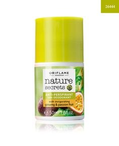 http://www.istyle99.com/Beauty-Products/Bath-Body-Care/?cid=mj04 Nature Secrets Anti-perspirant 24h Deodorant with Invigorating Ginseng & Passion Fruit 50ml @ 24% OFF Rs 136.00 Only FREE Shipping + Extra Discount - Oriflame Deodorant, Buy Oriflame Deodorant Online, Oriflame Cosmetics,