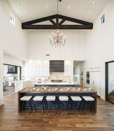 20 best waterfall kitchen island images kitchen dining home rh pinterest com