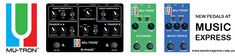 Music Express, Guitar Pedals, Music Store, Cool Guitar, Bass, Piano, Music Instruments, Range, Top