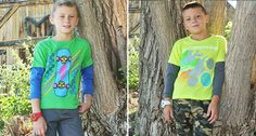 Grand Slam Style! Up to 48% off layered t-shirts!