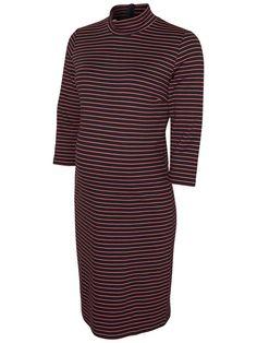 JERSEY MATERNITY DRESS, Navy Blazer, large