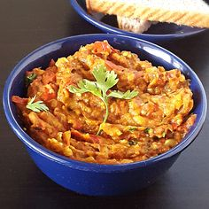Baingan bharta recipe - Smoky spiced mashed eggplant - My Indian Taste