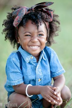 Are you in search of easy hairstyles for black girls? If so, check out our collection of cute hairstyles for little black girls! Beautiful Children, Beautiful Babies, Precious Children, Cute Kids, Cute Babies, Curly Hair Styles, Natural Hair Styles, Belleza Natural, Black Is Beautiful