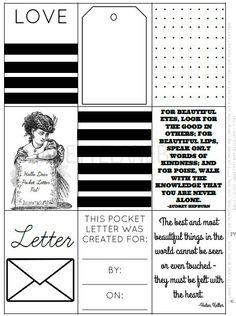 Pocket Letter  Pocket Letters    Pockets And Letters