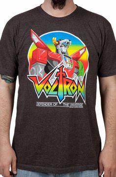 Defender Voltron Shirt: 80s Cartoons Voltron T-shirt