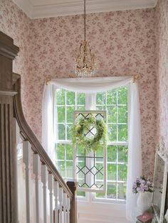 Chateau Chic: Ideas For Easy Window Treatments