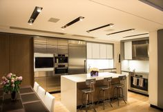 Modern kitchen design Mojo Stumer Associates Architecture New York City NYC
