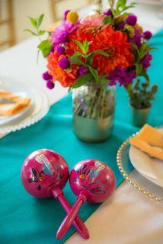 Mexican Fiesta via Kara's Party Ideas KarasPartyIdeas.com Tutorials, cake, decor, printables, desserts, and more! #mexicanfiesta #fiesta #latinbirthdayparty #karaspartyideas (30)