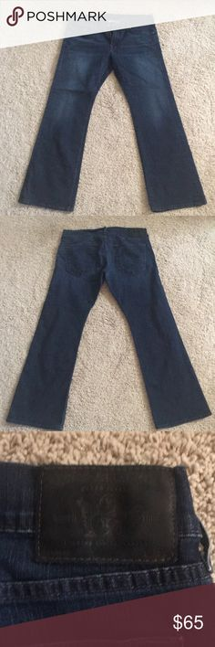 Mens True Religion Bootcut jeans Used Mens True Religion Bootcut Jeans   Zipper fly low rise. Non smoking and non pet home True Religion Jeans Bootcut