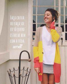 Porque tudo passa, e o sol sempre volta.☀️ #lojaamei #etiquetaamei #muitoamor #sol #saia #regata #casacodefio