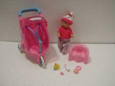 Baby Born Miniworld Jogger Puppenwagen mit Puppe