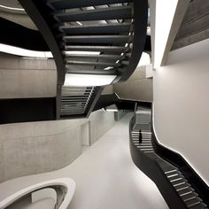 Photographer Luke Hayes has sent us a selection of photos of the MAXXI_National Museum of the XXI Century Arts in Rome by architect Zaha Hadid.