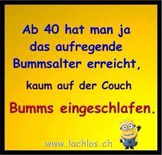 Ab 40 Älter werden Bumms Bummsalter Geburtstag 40. Geburtstag Lustig