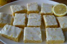 Лимонный брауни
