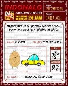 Tafsir Lotre 4D Togel Wap Online Live Draw 4D Indonalo Banda Aceh 17 Desember 2016