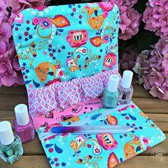Allie & Me design: Snappy Manicure Pouch ★ FreeBook ★ Ich packe meinen Koffer ...
