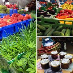 Knackig, frisches Gemüse vom Markt.
